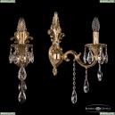 7201B14/1/175 B G Бра под бронзу из латуни Bohemia Ivele Crystal (Богемия), 7201