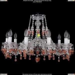 1410/10/240/Ni/7010 Хрустальная подвесная люстра Bohemia Ivele Crystal (Богемия)