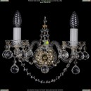 1411B/2/141/G/Balls Хрустальное бра Bohemia Ivele Crystal (Богемия)