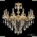 72101/10/250 B G Подвесная люстра под бронзу из латуни Bohemia Ivele Crystal (Богемия), 7201