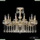 72101/12/300 A GW Подвесная люстра под бронзу из латуни Bohemia Ivele Crystal (Богемия), 7201