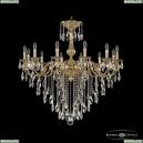 72101/12/360 B G Подвесная люстра под бронзу из латуни Bohemia Ivele Crystal (Богемия), 7201