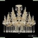 72101/12+6+6/300/2d A GW Подвесная люстра под бронзу из латуни Bohemia Ivele Crystal (Богемия), 7201