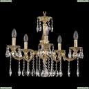72101/5/175 A G Подвесная люстра под бронзу из латуни Bohemia Ivele Crystal (Богемия), 7201