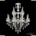 72101/8+4/210/2d B NW Подвесная люстра под бронзу из латуни Bohemia Ivele Crystal (Богемия), 7201