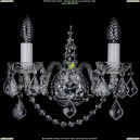 1411/2/Ni/Leafs Хрустальное бра Bohemia Ivele Crystal (Богемия)