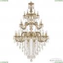 72103/12+6+6/300/3d B FP Подвесная люстра под бронзу из латуни Bohemia Ivele Crystal (Богемия), 7203