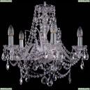 1411/5/160/Ni Хрустальная подвесная люстра Bohemia Ivele Crystal (Богемия)