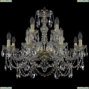 1411/8+4/240/G Хрустальная подвесная люстра Bohemia Ivele Crystal (Богемия)