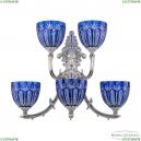 7211B15P/3+2/210 NW P1 U Clear-Blue/H-1I Бра под бронзу из латуни Bohemia Ivele Crystal (Богемия), 7211