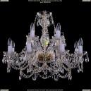 1411/8+4/300/G Хрустальная подвесная люстра Bohemia Ivele Crystal (Богемия)