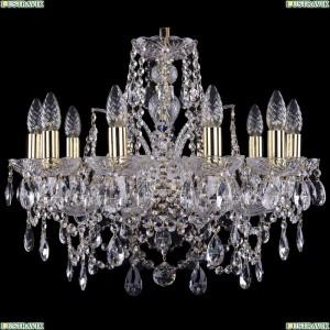 1411/10/195/G Хрустальная подвесная люстра Bohemia Ivele Crystal (Богемия)