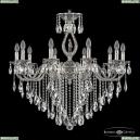 72401/10/300 B NB FH1M Подвесная люстра под бронзу из латуни Bohemia Ivele Crystal (Богемия), 7201