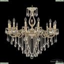 72401/12/300 B GW FL3B Подвесная люстра под бронзу из латуни Bohemia Ivele Crystal (Богемия), 7201