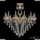 72401/12/360 B G FS2B Подвесная люстра под бронзу из латуни Bohemia Ivele Crystal (Богемия), 7201
