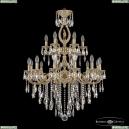 72401/12+6/250/2d B FP FH1M Подвесная люстра под бронзу из латуни Bohemia Ivele Crystal (Богемия), 7201