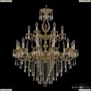 72401/12+6/300/2d B G FA2B Подвесная люстра под бронзу из латуни Bohemia Ivele Crystal (Богемия), 7201