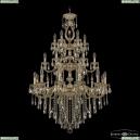 72401/12+6+6/300/3d B GW FL3M Подвесная люстра под бронзу из латуни Bohemia Ivele Crystal (Богемия), 7201