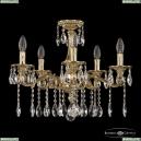 73102/5/175 A G Подвесная люстра под бронзу из латуни Bohemia Ivele Crystal (Богемия), 7302