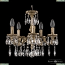 75101/5/125 A FP Подвесная люстра под бронзу из латуни Bohemia Ivele Crystal (Богемия), 7501