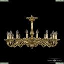 75102/16/300 GB Подвесная люстра под бронзу из латуни Bohemia Ivele Crystal (Богемия), 7502
