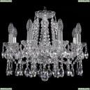 1413/8/165/Ni Хрустальная подвесная люстра Bohemia Ivele Crystal (Богемия)