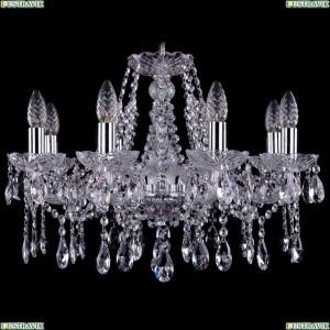 1413/8/200/Ni Хрустальная подвесная люстра Bohemia Ivele Crystal (Богемия)