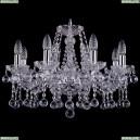 1413/8/200/Ni/Balls Хрустальная подвесная люстра Bohemia Ivele Crystal (Богемия)