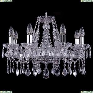 1413/8/200/Ni/Leafs Хрустальная подвесная люстра Bohemia Ivele Crystal (Богемия)