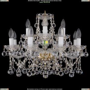 1413/8+4/200/G/Balls Хрустальная подвесная люстра Bohemia Ivele Crystal (Богемия)