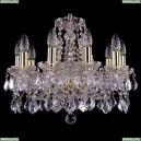 1413/10/165/G/Leafs Хрустальная подвесная люстра Bohemia Ivele Crystal (Богемия)