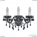 1410B/3/141 Ni V3001 M731 Бра Bohemia Ivele Crystal (Богемия)