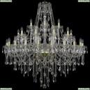 1415/20+10+5/400/G Хрустальная подвесная люстра Bohemia Ivele Crystal (Богемия)