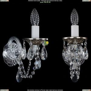 1600/1/NB Хрустальная бра Bohemia Ivele Crystal (Богемия)