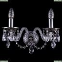1600/2/NB Хрустальное бра Bohemia Ivele Crystal (Богемия)