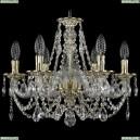 1606/6/160/GW Хрустальная подвесная люстра Bohemia Ivele Crystal (Богемия)