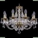 1606/8/195/GB Хрустальная подвесная люстра Bohemia Ivele Crystal (Богемия)