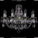 1606/8/195/NB/Leafs Хрустальная подвесная люстра Bohemia Ivele Crystal (Богемия)