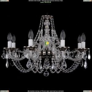 1606/8/240/NB/Leafs Хрустальная подвесная люстра Bohemia Ivele Crystal (Богемия)