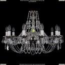 1606/10/240/NB/Leafs Хрустальная подвесная люстра Bohemia Ivele Crystal (Богемия)