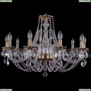 1606/10/300/FP Хрустальная подвесная люстра Bohemia Ivele Crystal (Богемия)