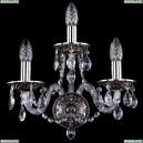 1610/3/NB Хрустальное бра Bohemia Ivele Crystal (Богемия)