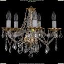 1613/5/141/G/Leafs Хрустальная подвесная люстра Bohemia Ivele Crystal (Богемия)