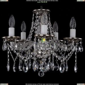 1613/5/141/NB Хрустальная подвесная люстра Bohemia Ivele Crystal (Богемия)