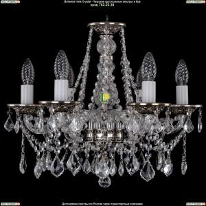 1613/6/165/NB/Leafs Хрустальная подвесная люстра Bohemia Ivele Crystal (Богемия)