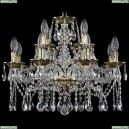1613/8+4/200/GB Хрустальная подвесная люстра Bohemia Ivele Crystal (Богемия)