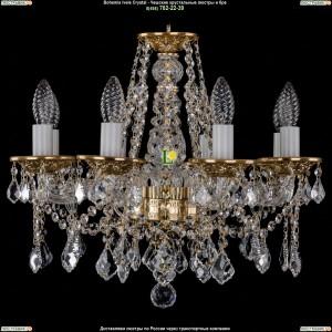 1613/8/165/G/Leafs Хрустальная подвесная люстра Bohemia Ivele Crystal (Богемия)