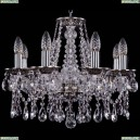 1613/8/165/NB Хрустальная подвесная люстра Bohemia Ivele Crystal (Богемия)