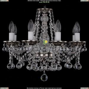 1613/8/165/NB/Balls Хрустальная подвесная люстра Bohemia Ivele Crystal (Богемия)
