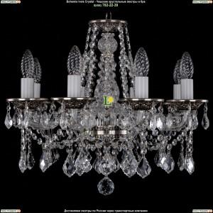 1613/8/165/NB/Leafs Хрустальная подвесная люстра Bohemia Ivele Crystal (Богемия)